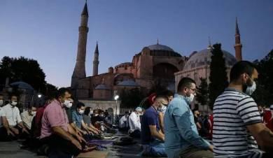 Турецкий медиаресурс опубликовал материал об отношении российских мусульман к возвращению Айя-Софии исторического статуса Дома Всевышнего
