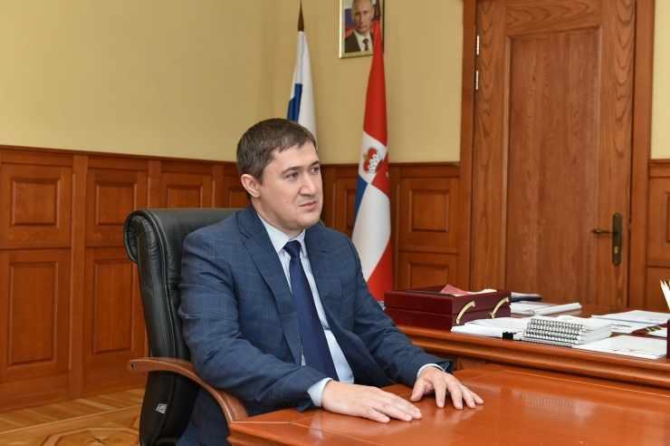 Поздравление главы Пермского края с праздником Курбан-байрам